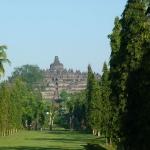 Selamat pagi di Borobudur
